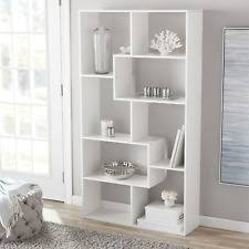 White modern bookshelf Cb2 Tall Bookcase Storage Cube Open Bookshelf Modern Shelf Display Furniture White Defeasibleinfo White Modern Bookcases Shelves Ebay