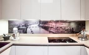 Glass Splashback contemporary kitchen contemporary-kitchen