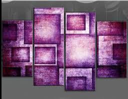 purple canvas wall art uk