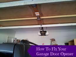 edl garage doorsHow To Reattach Your Automatic Garage Door Opener  Honest And Truly
