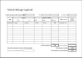 Mileage Log Sheet Vehicle Excel Product Sales Record Unique