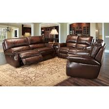 Parker Living Hawthorne Leather Power Reclining Living Room Set In