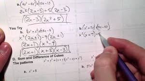solving polynomial equations by factoring worksheet