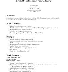 Dental Assistant Traineeship Cover Letter Primeliber Com