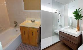 Cheap Bathroom Makeover Mesmerizing 48 Tips On Small Bathroom Makeovers Residential Commercial