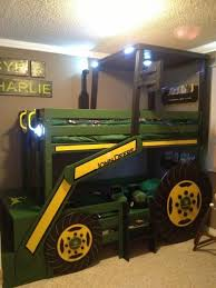 what little boy wouldnt want a giant tractor in their room another great boy kids beds bedroom