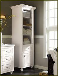 Bathroom Cabinet Tower Bathroom Hutch Sharp Home Design