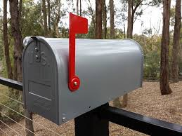 Mailbox With Mail Indicator US Style Mailbox With Indicator Mail