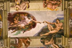 sistine chapel ceiling creation of eve