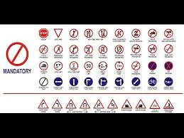 Road Safety Chart In India Traffic Rules Regulations And Road Safety Sign