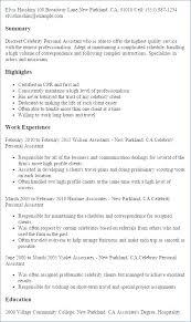 Personal Assistant Job Description Resume Classesdesign Co