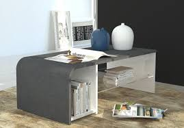view larger gallery s time modern coffee table in white gloss finish grey with storage space
