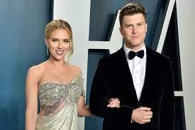 Scarlett Johansson, Colin Jost Madly in ...