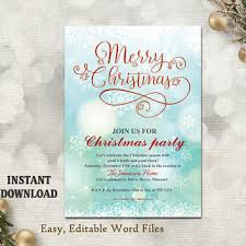 Printable Christmas Card Templates Classy TheDesignsEnchanted On Etsy On Wanelo