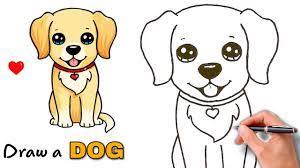 Vẽ Chú Chó Đơn Giản Siêu CuTe