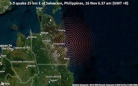 Philippines hit by deadly quake. Strong Mag 6 0 Earthquake 101 Km East Of Butuan Agusan Del Norte Caraga Philippines On Monday 16 Nov 2020 6 37 Am Gmt 8 63 User Experience Reports Volcanodiscovery