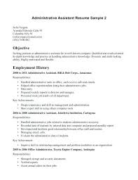 Resume Objectives For Administrative Assistant Unique Career Objective Statement Examples For Administrative Assistant