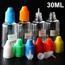 childproof cap 30ml e bottles with thinner dropper plastic empty 10ml 30ml 50ml e juice
