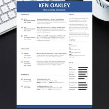 Modern Engineer Resume Modern Engineer Resume Templates 1 Page Resume Free Get