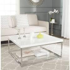 glam chrome high gloss coffee table