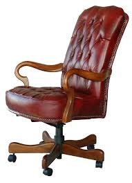 high back executive leather office chair lumbar support big and tall chairs home top grain desk