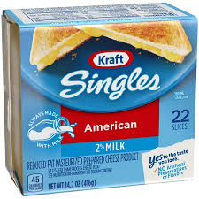 kraft american cheese slices. Simple Slices Kraft Singles 2 Milk Reduced Fat American Cheese Slices 147 Ounce 22  Slices On Slices