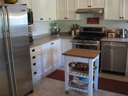 small kitchen island butcher block. Mini Kitchen Island New Bekv\u201em Ikea Hack The Cozy Project Small Butcher Block