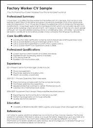 Sample Manufacturing Resume – Moncleroutlet