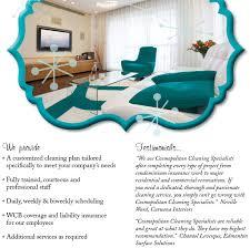 cleaning company brochure design roxane brisson design