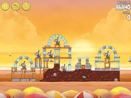 Angry Birds Rio Golden Beachball Walkthrough Level #21