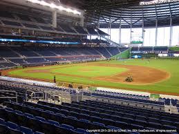 Miami Marlins Interactive Seating Chart Marlins Vs Brewers Tue May 5 2020