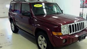 jeep 3rd row 2007 jeep mander 4x4 w third row seat moonroof more stk