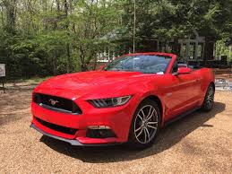 Test Drive: Mustang GT convertible a boomer's dream | Times Free Press
