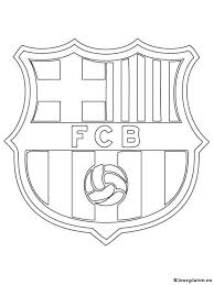 Fc Barcelona Kleurplaat 2025 Kleurplaat