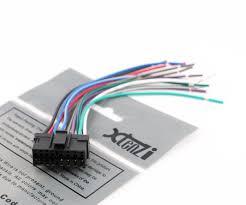 amazon com xtenzi radio wire harness for sony indash radio amazon com xtenzi radio wire harness for sony indash radio reciver xav 63 xav 64bt xav 601bt xav 701bt automotive