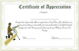 Volunteer Certificate Of Appreciation Templates Certificate Appreciation Wording Army Bullets Ine Heavenly Of