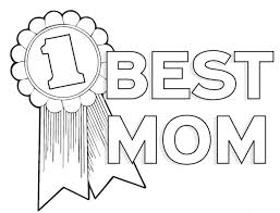 Best Mom Coloring Page Coloring Page Book For Kids