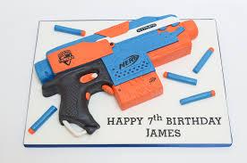 nerf gun cake 22 cakes CakesDecor