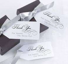 thank you tags for wedding favors favor tags wedding favor tags personalized favor tags