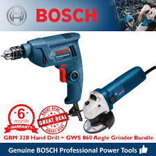 bosch gbm 320 electric rotary hand drill gws 060 angle grinder 4 power tool