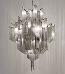 modern chain chandelier round silver chandelier gold chandelier light swarovski crystal chandelier