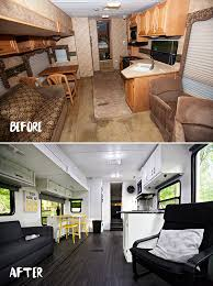 Beautiful Rv Remodel Rv Makeover Campers Makeover Motorhome Makeovers  Makeovers