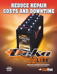 Deka Battery Cross Reference Chart 0630 Ez Link East Penn Manufacturing