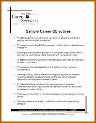4040 Career Goal Statement Examples Resumeex Cool Career Goal Statement