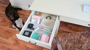 diy desk drawer organizer