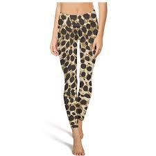 Yogalicious Size Chart Yogalicious Yoga Pants For Womens Capri Leggings Leopard