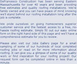 Boston Building Contractor: Boston Roofing Company By Defrancesco ...