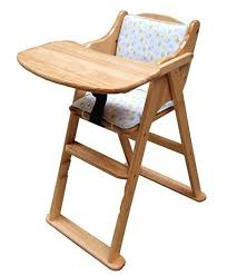 abracadabra foldable wooden baby feeding chair