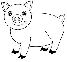 Small Picture Pig Coloring Pages Free Printable for Kids Enjoy Coloring