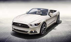 ford mustang convertible 2015. Contemporary Mustang 2015 Ford Mustang 50 Year Limited Edition Convertible In D